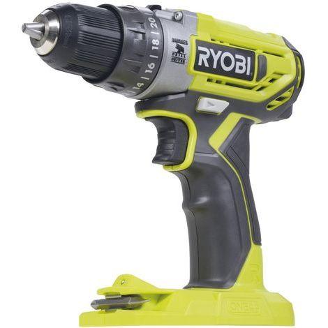 Ryobi - Perceuse-visseuse à percussion 18 V Li-Ion 40 Nm 2 vitesses sans batterie ni chargeur - R18PD2-0 - TNT