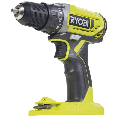 Ryobi Perceuse-visseuse à percussion 2 vitesses 18V, 10mm R18DD2-0 - 5133003816