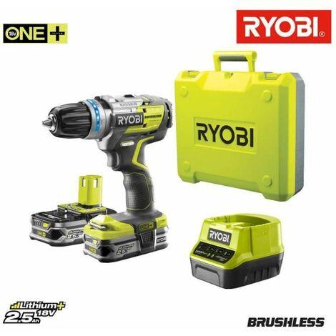 Ryobi r18ddbl-225b Batterie Perceuse a percussion, jaune