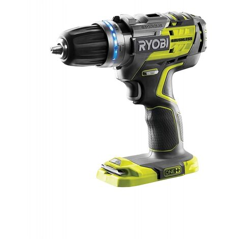 RYOBI R18PDBL-0 ONE+ 18-Volt Brushless Combi Drill