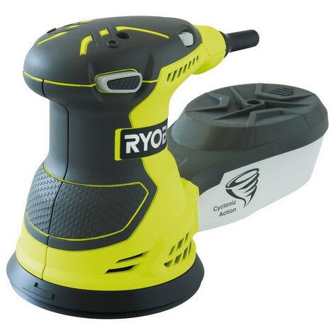 Ryobi ROS300 portable sander Disc Black Yellow 12000 RPM 300 W (ROS300)