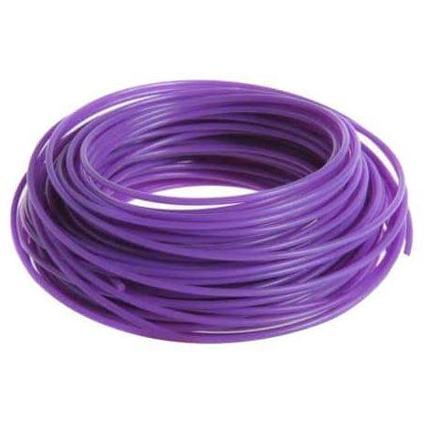 RYOBI round wire coil 15m diameter 1.6mm purple universal RAC101