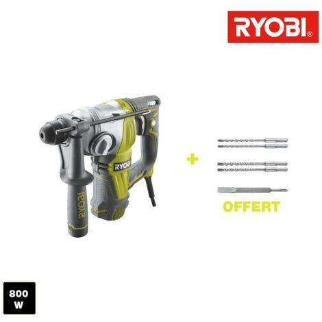 RYOBI SDSPLUS 800W Chisel puncher - 5 drill bits SDSPLUS RSDS800-KA5