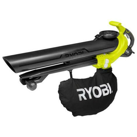 Ryobi - Soplador aspiro-trituradora eléctrica 3000W 375km/h 3en1 -