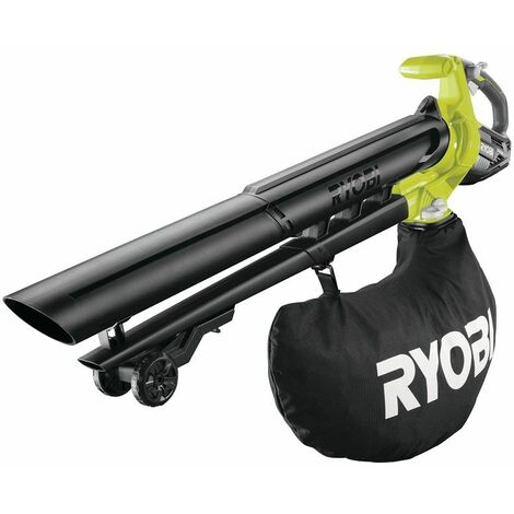 Ryobi Souffleur Aspirateur Brushless 18V OBV18, sans batterie ni chargeur - 5133003661