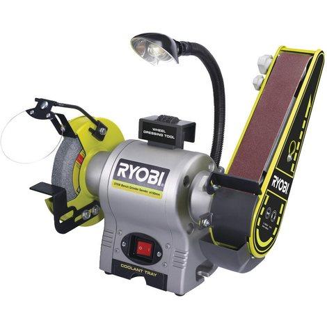 Ryobi - Touret à bande et à disque 370 W 150 mm bande 50 x 686 mm - RBGL650G