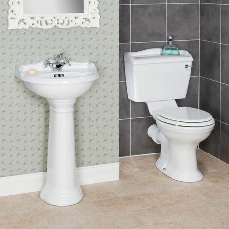 Ryther Cloakroom Suite 500mm 1 Tap Hole