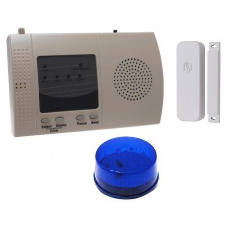 S Range Wireless Door Alert with Flashing LED (300 metre) [004-3850]