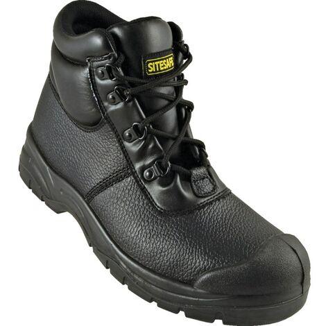 S1P Black Chukka Safety Boots