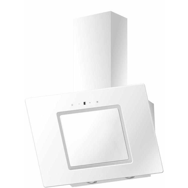 S26-60 Hotte LED blanche testé 60 cm verre