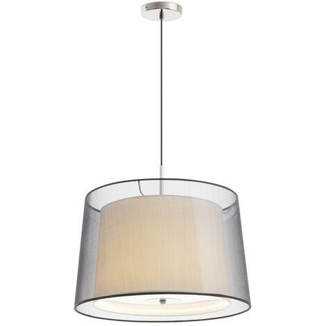 SABA-3 Lámpara colgante - Níquel mate