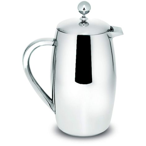 Sabichi 800ml Double Wall Stainless Steel Cafetiere, Silver, 12.5x16.5x22.5 cm