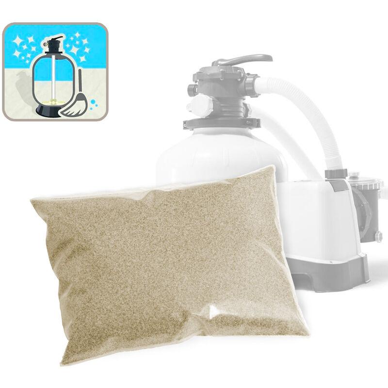 Sable de quartz pour Pompe de filtration pour piscine Bestway Jilong 25 Kg universel PURE CLEAN - Intex