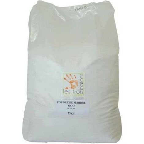 Sable De Quartz Silice Blanc 25Kg (0,1 à 0,3mm)