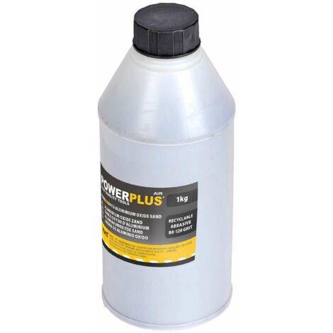 Sable oxyde d'aluminium pour sableuse pneumatique 1kg