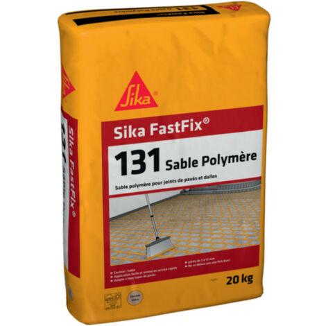Sable polymère pour remplissage de joints de pavés et dalles SIKA FastFix 131 - Ton sable - 20kg - Beige