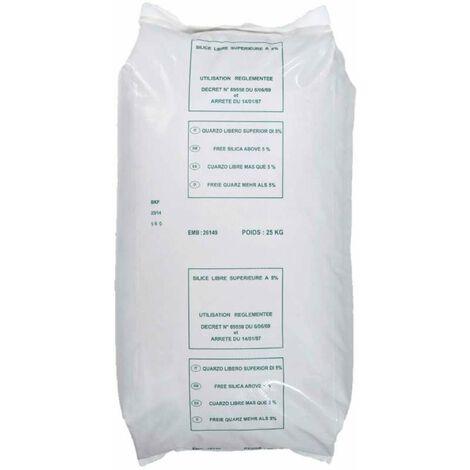 Sable pour filtration 0.6-1.6mm 25kg