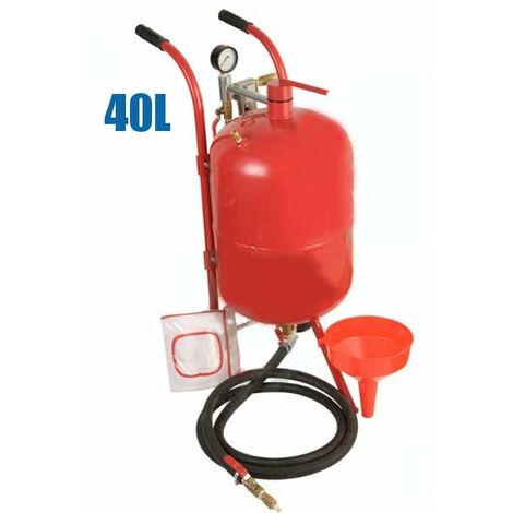Sableuse mobile 40 litres sableuse à pression