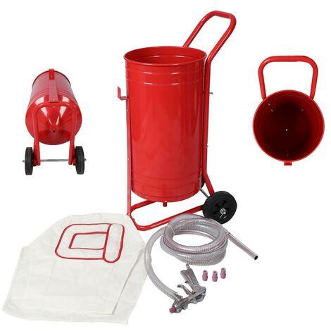 Sableuse / Pot de sablage mobile 30 L + accessoires