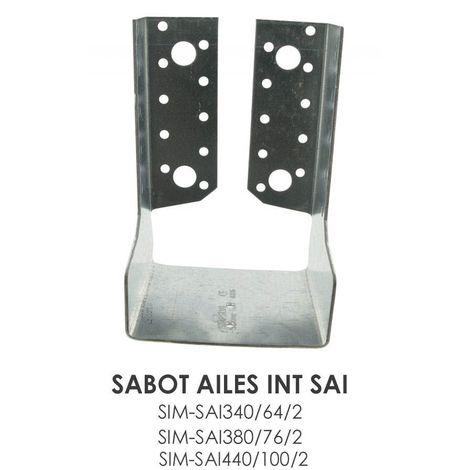 Sabot à ailes intérieures SAI Simpson