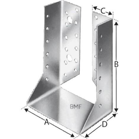 Sabot de charpente interieur BSI60/100 SST (Par 50)