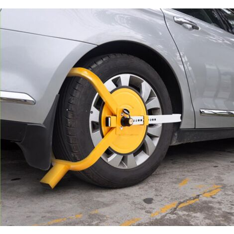 Sabot roue antivol caravane, voiture, camping car, remorque