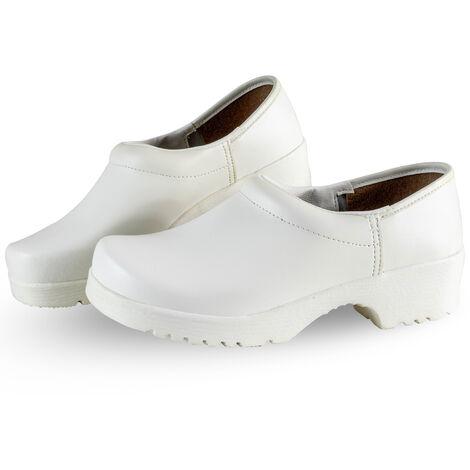 sabot travail femme chaussures de securite blanche cuisine EN347 02 Taille - 38