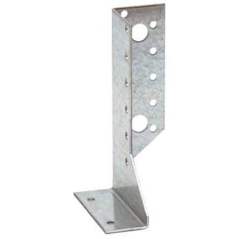 Sabots droits SDED 30x138x84mm pour section de bois entre 60 et 120mm acier galvanisé carton de 50 pièces