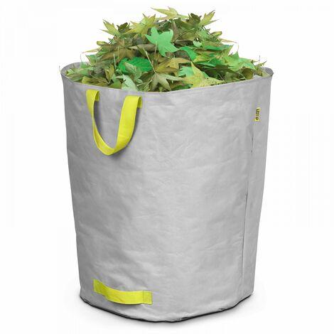 Sac à déchets de jardin 160 L - Gris