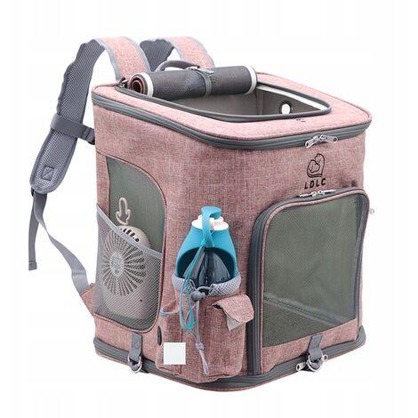 Sac à dos pour chien Sac de transport pliable pour animaux de compagnie pour chiens et chats.