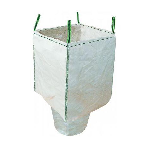 Sac à gravats avec goulotte 1500 kg Taliabag® TALIAPLAST