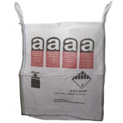 Sac à gravats BIG BAG pour déchets amiantés - BBNE115PEA - -