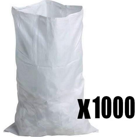sac à gravats tissé en Balle de 1000 résistance 60 kg