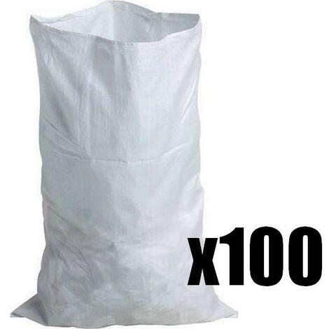 Sac à gravats tissé résistance 60 kg (x100)