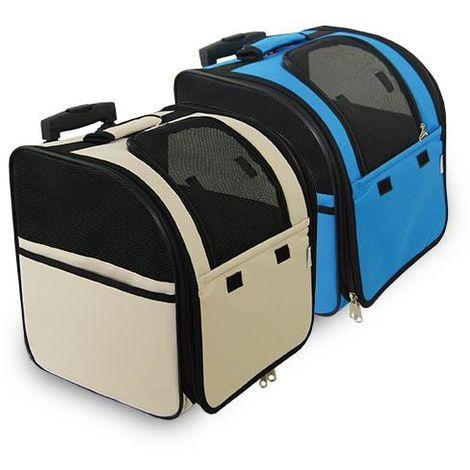 Sac à main-sac à dos avec roues et poignée disponible en plusieurs options.