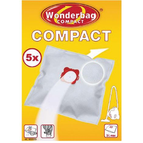 Sac aspirateur Compact Wonderbag - Boîte de 5 sacs