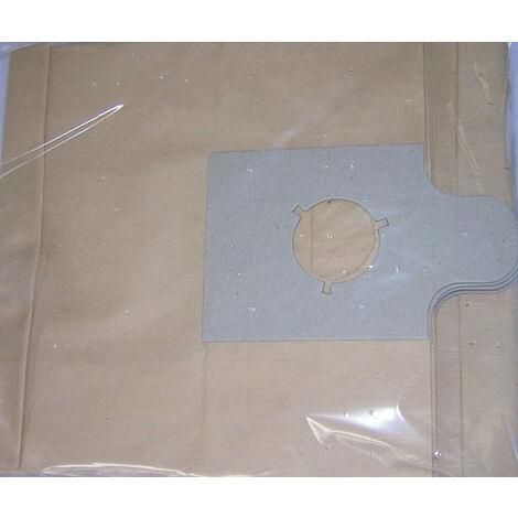 Sac d'aspirateur papier KOSMOS 8 bleu (les 10), PROGALVA, Ref. 1079
