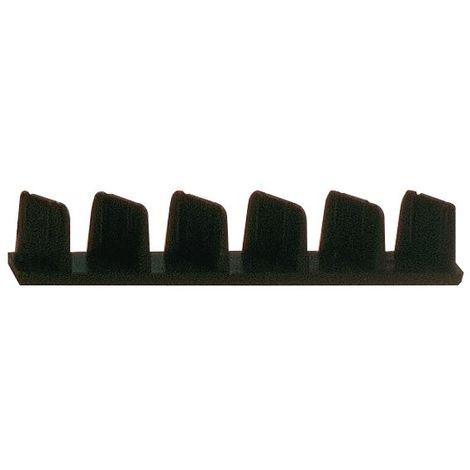 Sac de 10 Embouts plastique de règle de maçon 100 x 18 mm - Mob/Mondelin