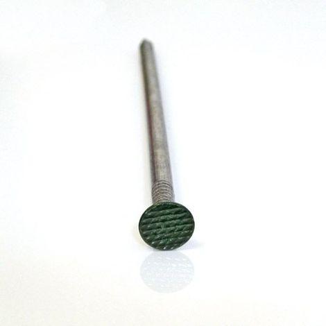 Sac de 100 clous à tête verte spécial gazon synthétique decoweb.com