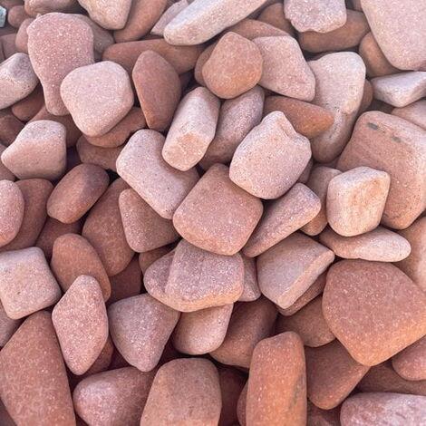 Sac de 400 kg = 10M² Gravier briques roulées Terracota 25/40