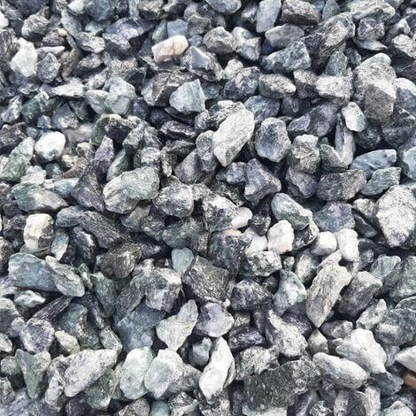 Sac de 400 kg = 10M² Gravier de marbre vert 12-16