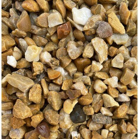 Sac de 400 kg = 10M² Gravier semi concassé gris des pyrénées 14/20