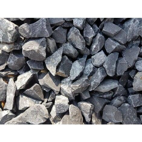 Sac de 600 kg = 15M² Gravier noir basalt 14/20