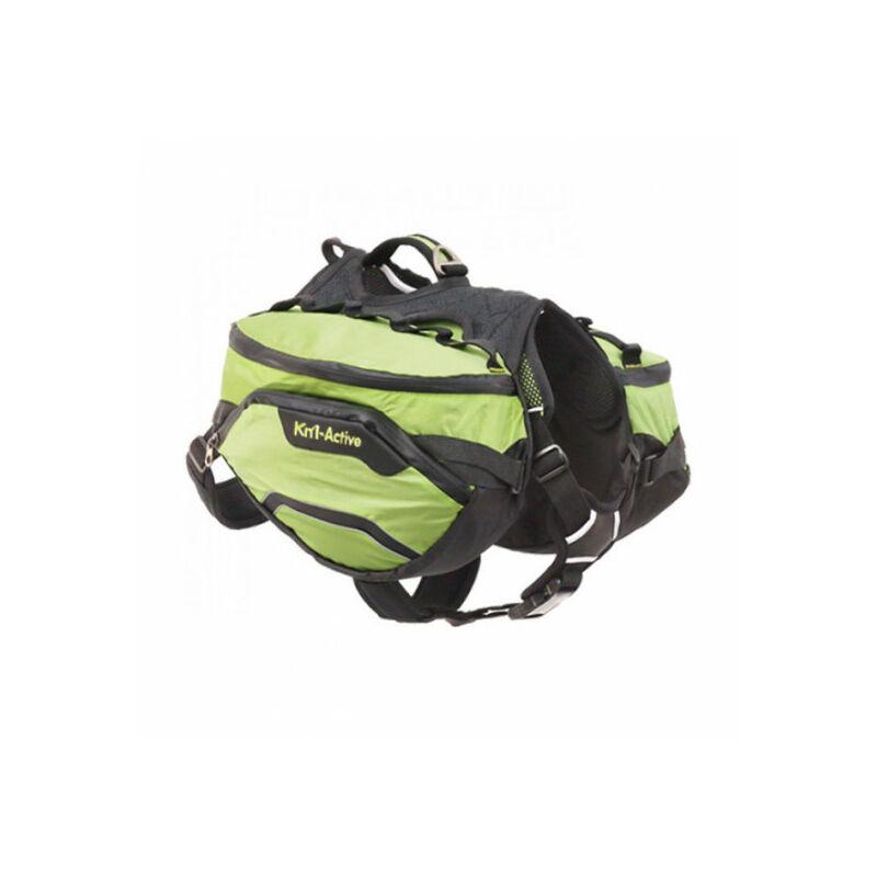 Sac de bât Pro Active Trail pour chien T2 vert - Kn'1 ®