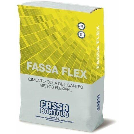 Sac de colle carrelage Fassaflex blanc C2TES1 sac 25 kilos