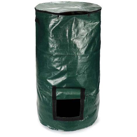 Sac De Compost Organique Legumes Grandir Compost Sac Potager Jardiniere Avec Poignees Et Acces Flap (45X80Cm)