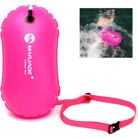 Sac de natation gonflable Airbag ¨¦tanche PVC natation plong¨¦e en apn¨¦e bou¨¦e de sauvetage sac de flotteur