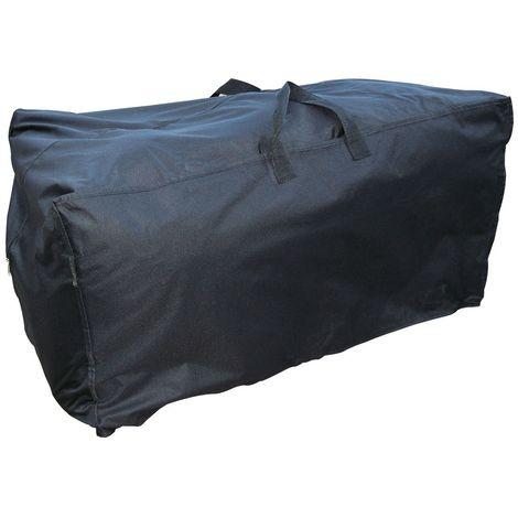 Sac de protection pour coussins de bain de soleil - Noir