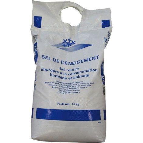 Sac de sel de déneigement 10kg
