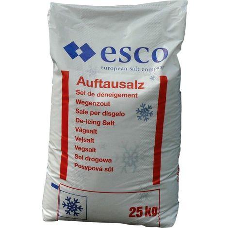 Sac de sel de déneigement 25kg